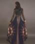 skirt-dark blue