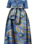 skirt-sky blue